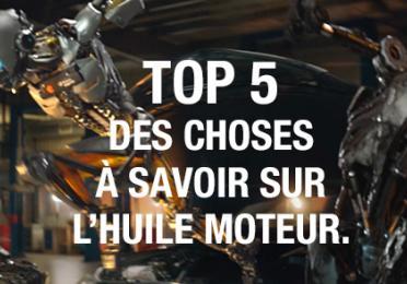 Total top5 conseils huiles moteur