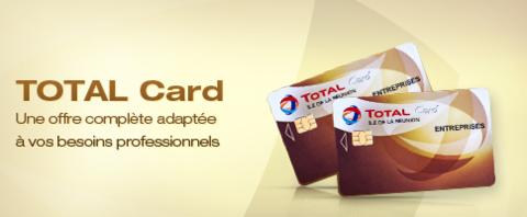 Les avantages de la carte Total