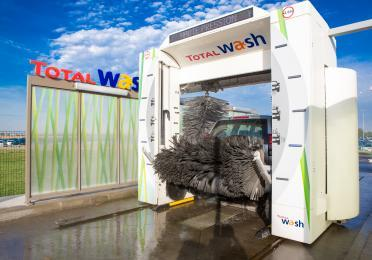 Total station wash lavage rouleaux